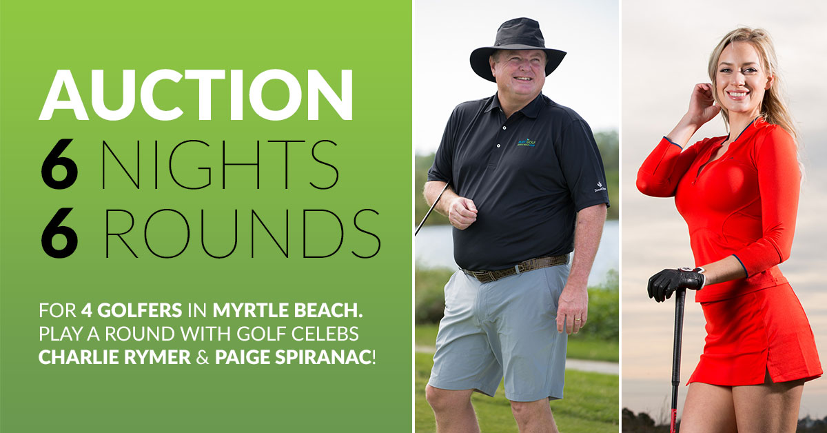 6 Night / 6 Rounds - Myrtle Beach Foursome